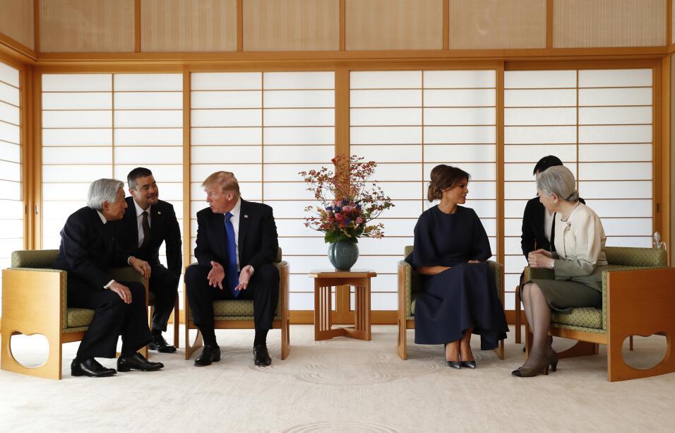 Donald Trum, Akihito