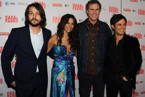 """La película que estaban promocionando era """"Casa de mi padre"""", donde part..."""