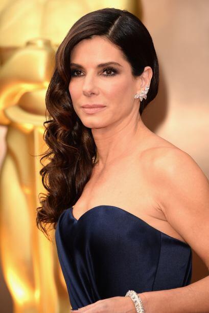 Una mujer en el Club de los $20M, la bella Sandra Bullock.