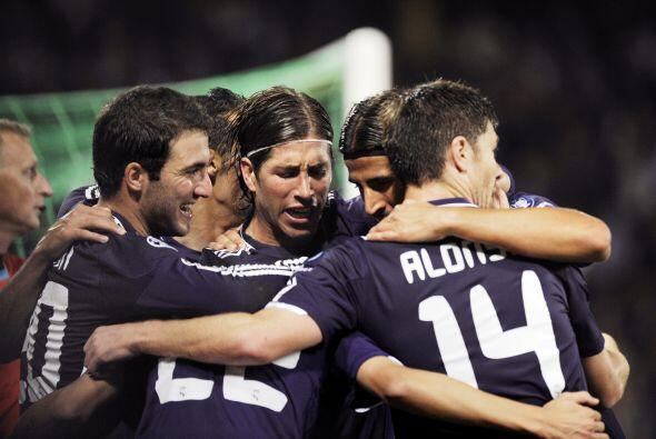 Real Madrid llegó a seis unidades en el 'Grupo de la Muerte'.