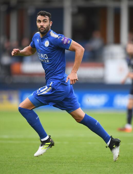 Vicente Iborra (Leicester City): fue uno de los mejores jugadores del Se...