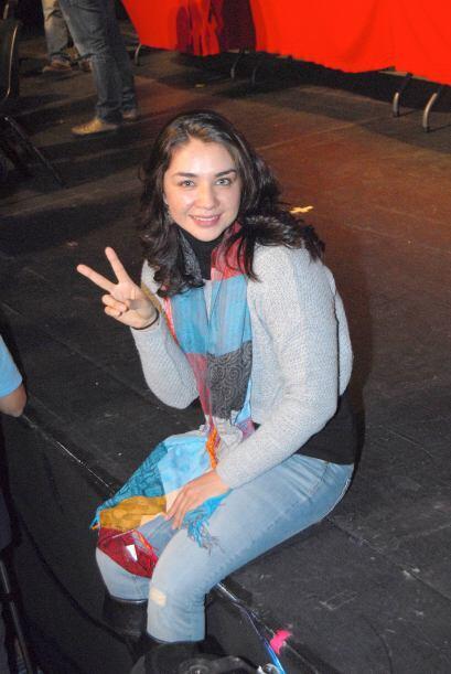Daniela se mantiene muy activa en redes sociales, en contacto con sus fans.