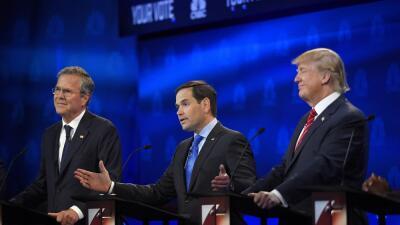 Bush, Rubio, Trump