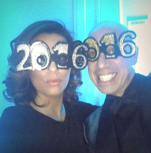 Famosos en Año Nuevo