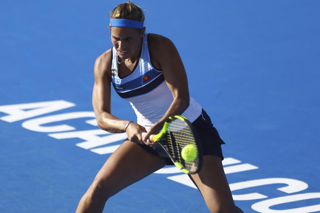 Mladenovic y Puig, belleza y talento del tenis femenino en el Abierto Me...