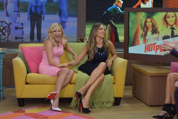 Reese confesó que deseaba trabajar con Sofía y que es fan de la serie 'M...
