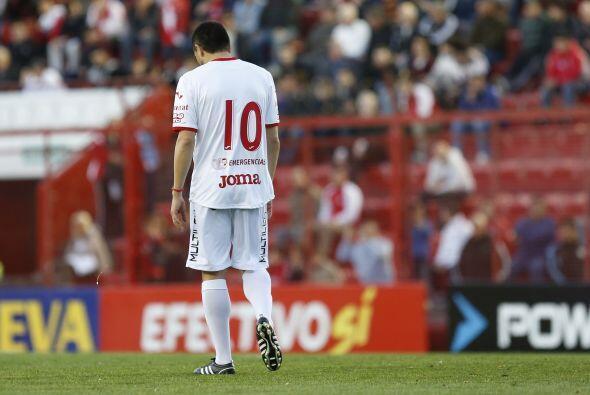 Riquelme jugó de enganche durante su carrera, una posición casi mandada...