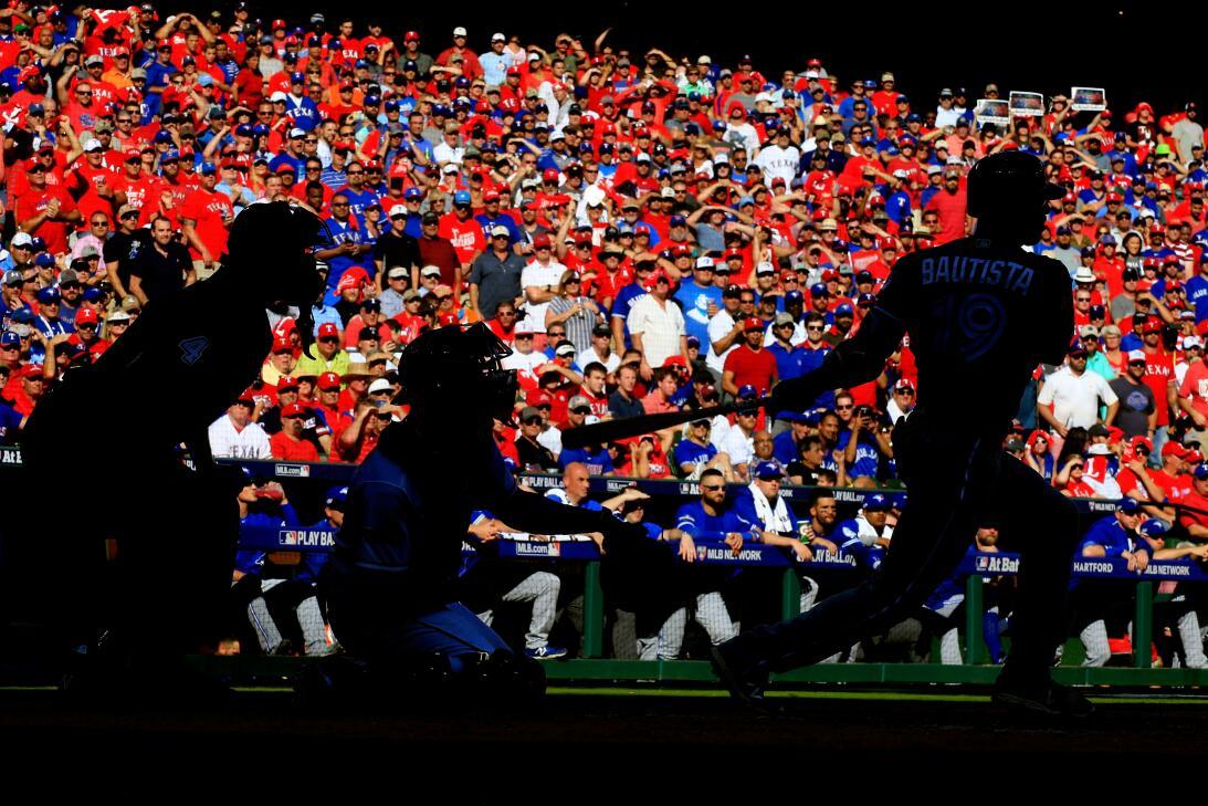 Postales de postemporada del béisbol de Grandes Ligas GettyImages-613005...