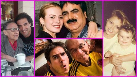 Los famosos y sus padres