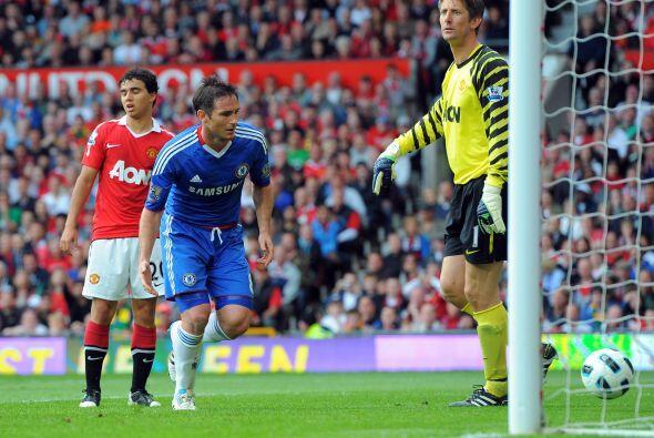 El Chelsea respondió en la segunda parte por medio de uno de sus hombres...
