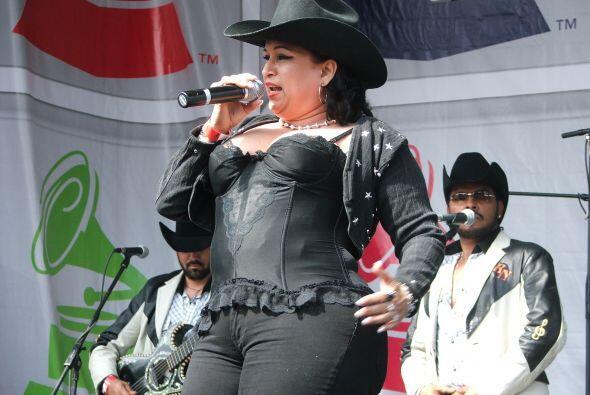 Esta mexicana que primero estuvo dedicada a las rancheras.