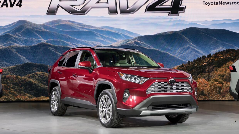 La Toyota Rav4 Debut 243 En Nueva York Mostrando La