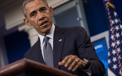 Barack Obama habla sobre economía en la Casa Blanca.