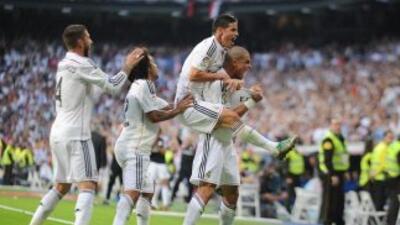 Real Madrid hizo un buen partido ante Barcelona.
