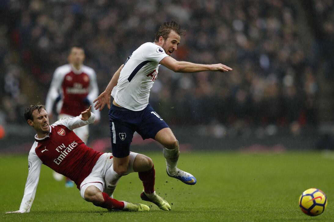 Tottenham venció 1-0 al Arsenal en fecha 27 de Premier League gettyimage...