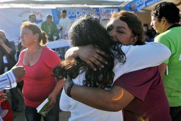 "El presidente de Chile, Sebastián Piñera, aseguró que ""espera rescatar a..."