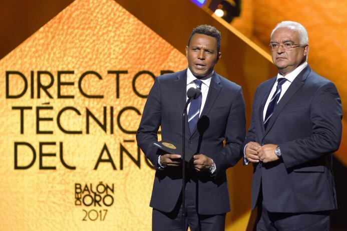 Ellos son los ganadores del Balón de Oro arlos Pavon y Luis Omar Tapia c...