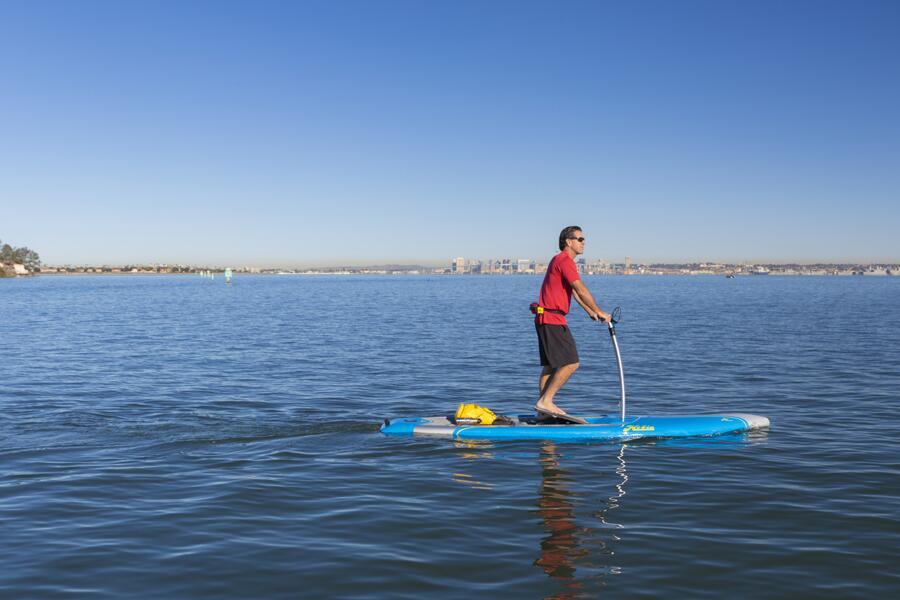 Innovadoras tablas de surf ofrecen una nueva forma de practicar el depor...