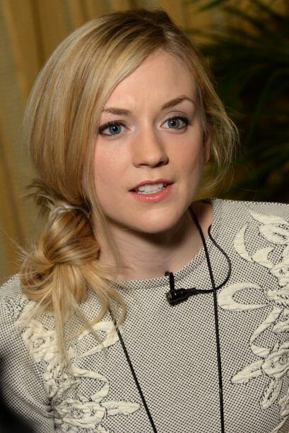 Emily en entrevistas, en febrero de 2014. Mira aquí los videos m&...