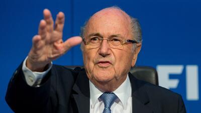 El suizo dijo que seguirá luchando por seguir al frente de FIFA