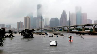 Harvey, degradado ya a tormenta tropical, está causando inundacio...