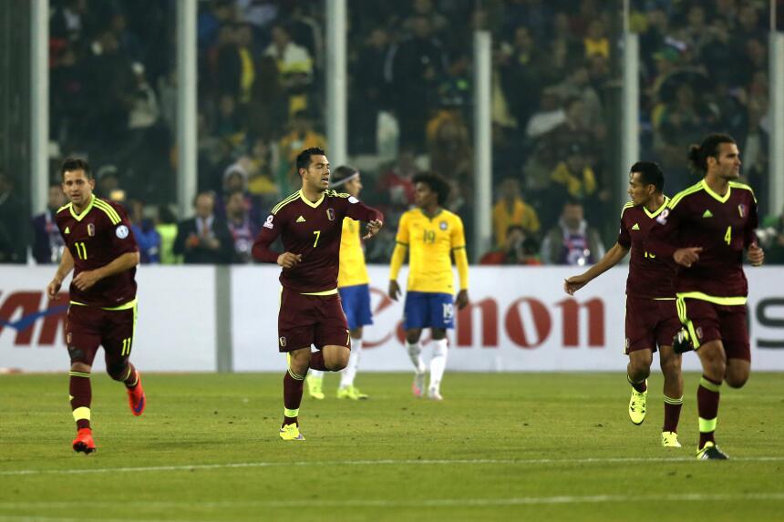 Brasil salva a Colombia del fracaso