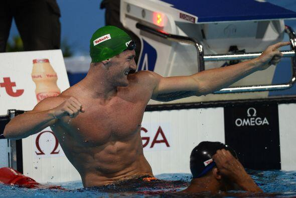 Van Der Burgh detuvo el cronómetro con un tiempo de 28.77.