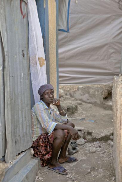 Leslie Voltaire, arquitecto y candidato presidencial haitiano, dijo que...