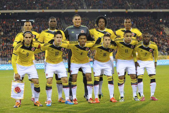 La Selección Nacional de Colombia fue de las animadoras constante...