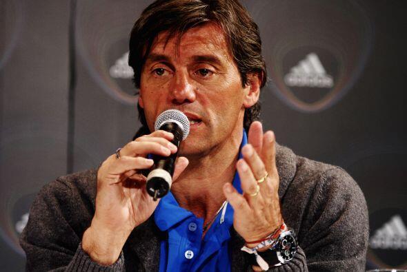 El ex arquero de la selección nacional de Argentina, Sergio Goycochea,...