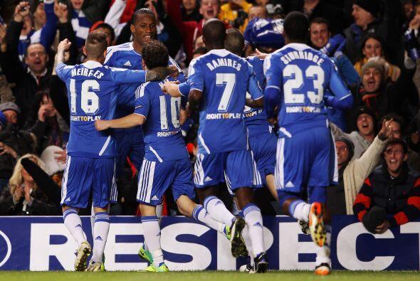 Chelsea pasó a octavos y el Valencia quedó eliminado.