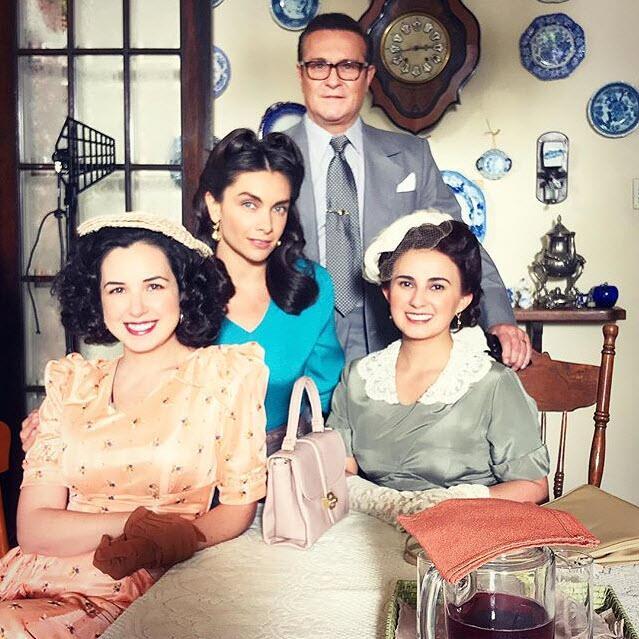 María de la Fuente en la serie 'Silvia Pinal frente a ti'