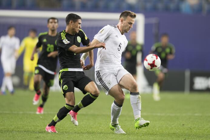 México empató con Alemania y aplaza su clasificación para el último part...