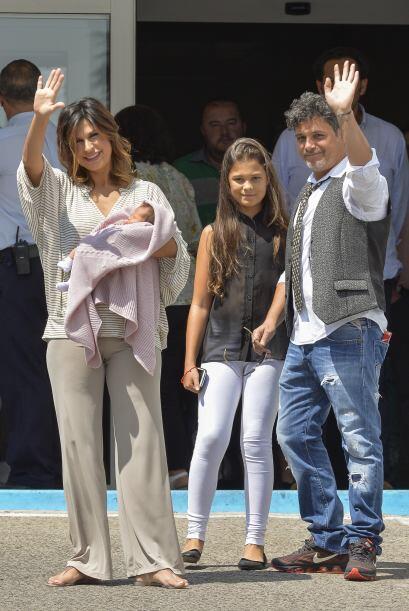 La prensa se agolpó a las afueras del hospital Ruber de Madrid.