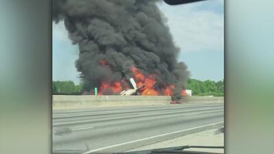 Imágenes de Impacto: Tragedia aérea en Atlanta deja 4 muertos