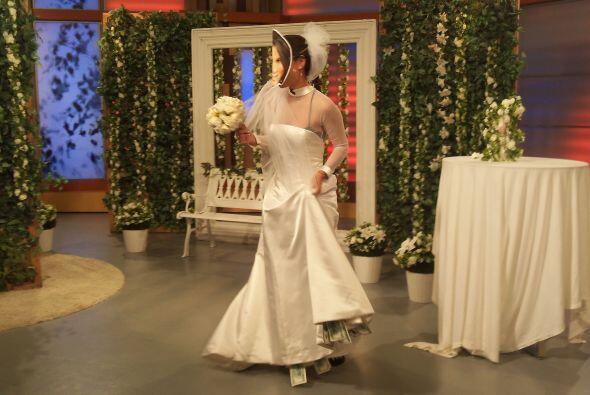 ¿Será que algún día podremos ver vestida de blanco a esta mujer maravilla?