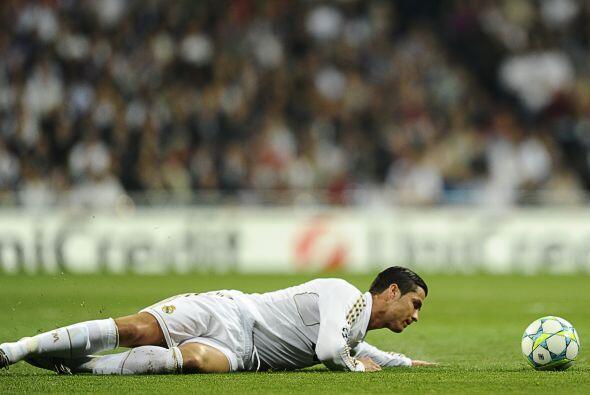 Mientras tanto, el Real Madrid continuaba su fiesta de anotaciones. Cris...