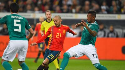 En fotos: Alemania y España empataron en Dusseldorf en esta fecha FIFA
