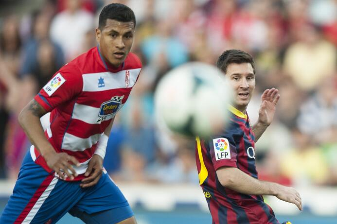 Jeison Murillo llegó desde el Deportivo Cali a la cantera del Granada. D...