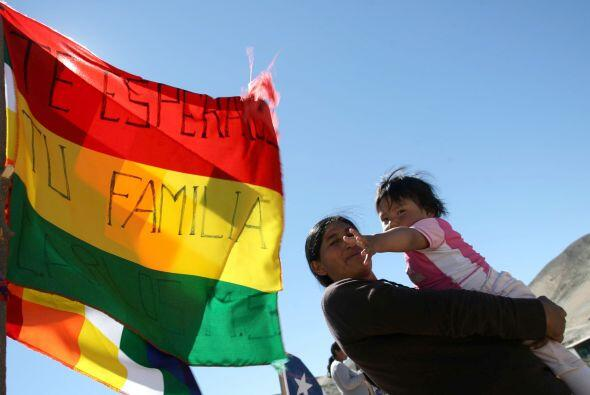 """""""Venimos por la necesidad de devolverle al pueblo chileno todo lo que no..."""