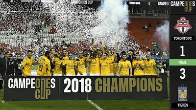 ¡Por fin! 'Tuca' Ferretti consiguió su primer título internacional con Campeones Cup