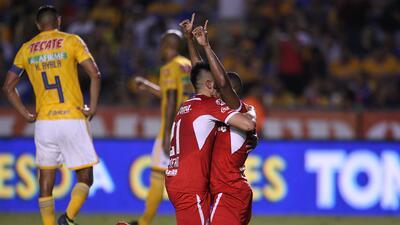 En fotos: Sorpresiva derrota de Tigres en casa contra Toluca