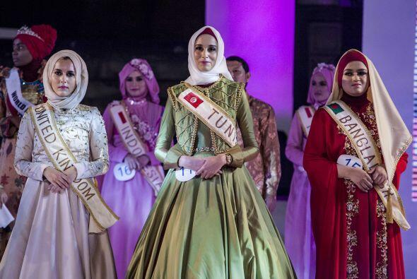 El concurso Miss Musulmana 2014 nació en respuesta a los certámenes de b...