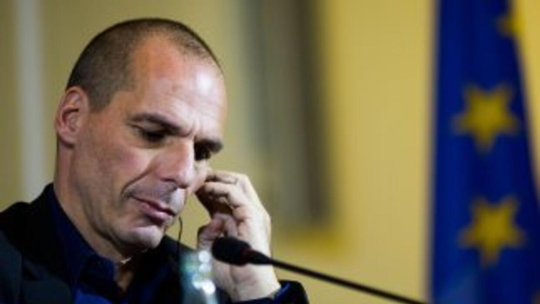 El ministro de Finanzas griego, Yanis Varoufakis.