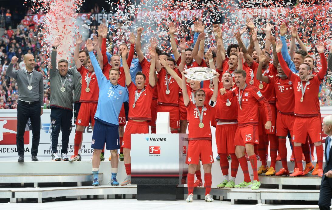 En fotos: Los 23 títulos de Pep Guardiola bundesliga-2015.jpg