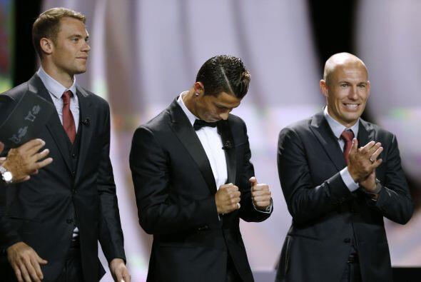 No hubo sorpresas. Cristiano Ronaldo fue el ganador.