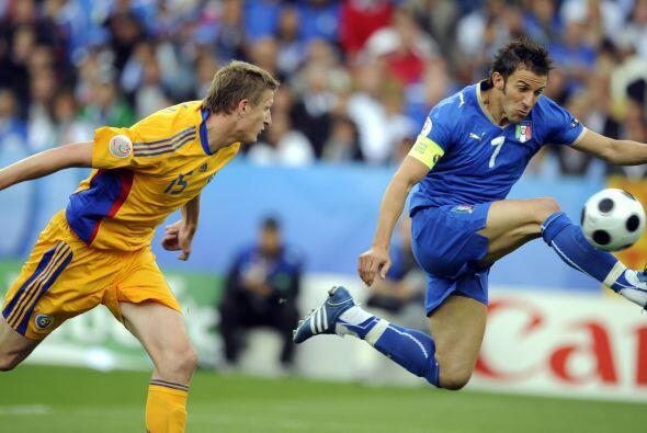 Volvió a jugar con Italia, pero las cosas ya no andaban nada bien para él.