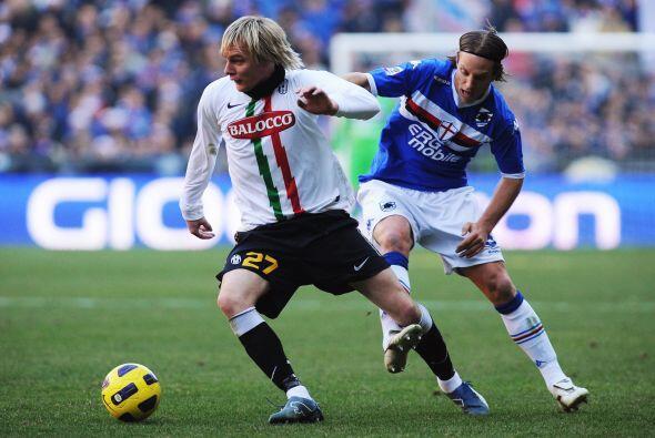 Juventus visitó la casa de la Sampdoria.