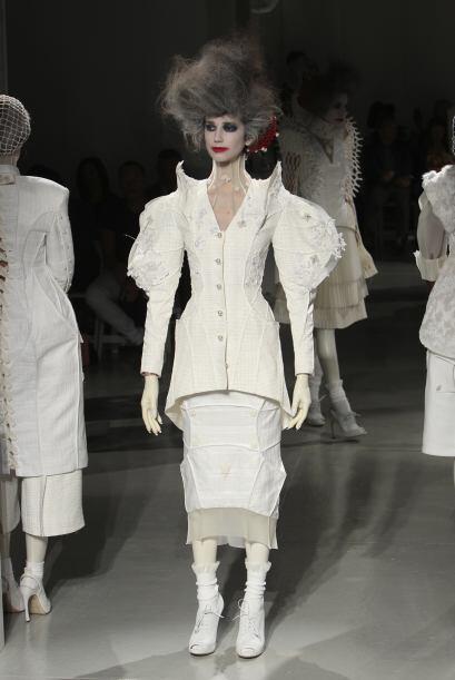 El diseñador Thom Browne presentó en Nueva York su nueva colección, en l...