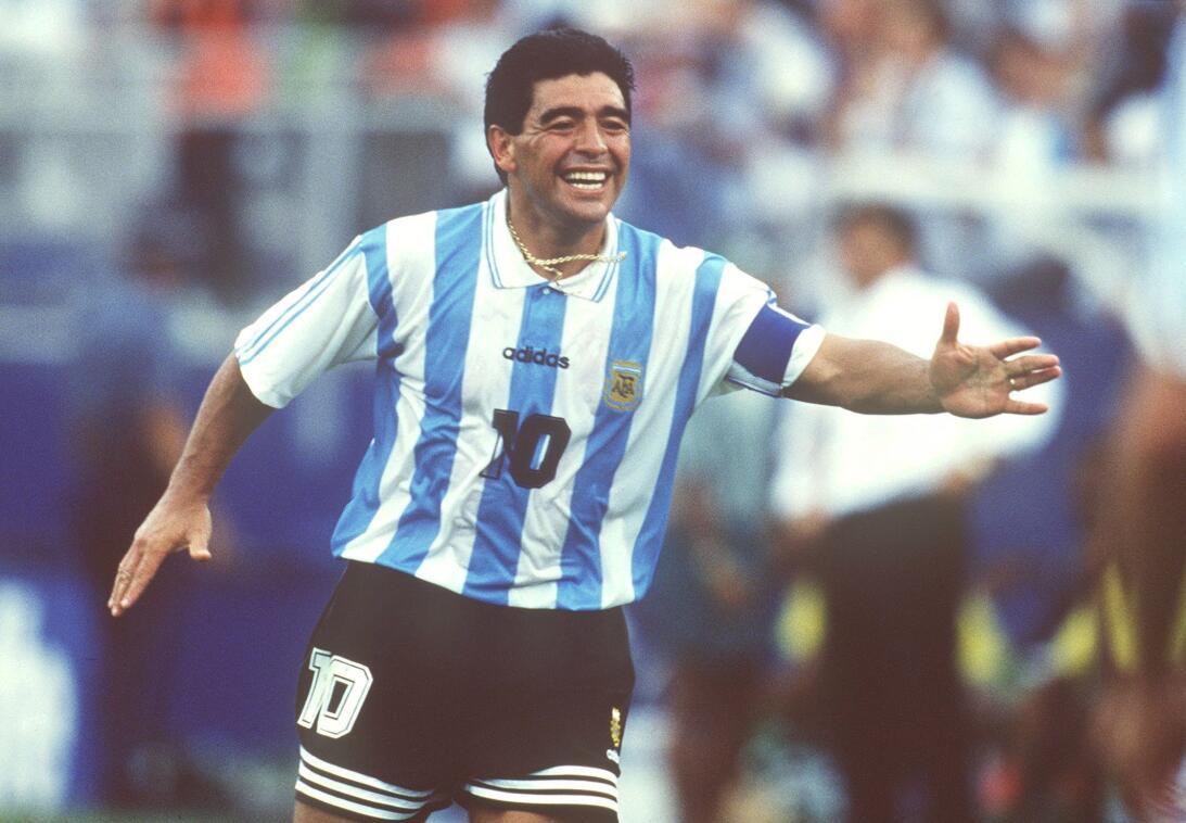 Diego Armando Maradona: el 'Pelusa' fue suspendido en dos ocasio...